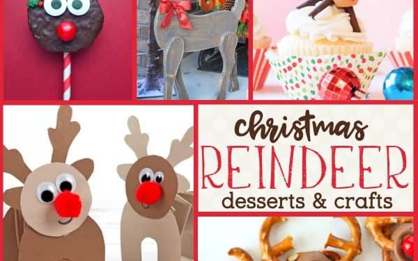 Reindeer Food + Crafts for a Festive Reindeer Party