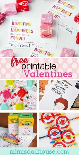 Valentine's Day: Clever FREE Valentine's Day Printables. Valentine's Day is fast approaching and I'm sharing some fun and clever valentine's ideas and free printables today. #freeprintables #printables #printablevalentines #valentine #valentines #valentinesday #holilday #kids #school #classroom #holiday #parties