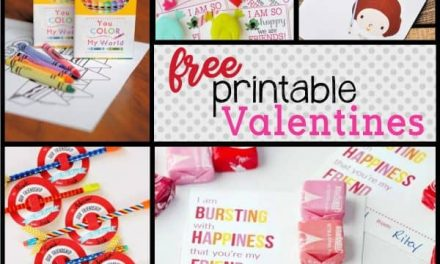 Clever FREE Printable Valentines