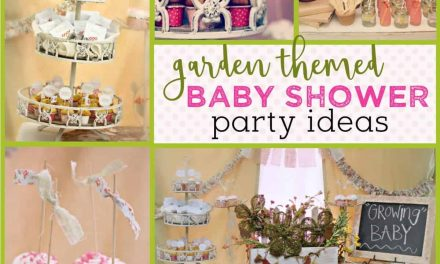 """Growing Belly"" Garden Themed Baby Shower"