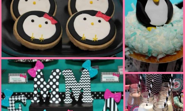 Penguin Party: Patterned Wooden Letter Tutorial