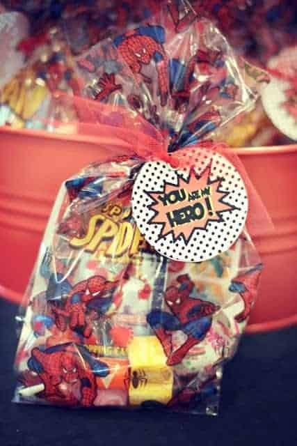 Superhero Party Brock S Vintage Spiderman Party Mimi S