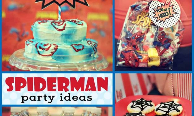 Budget-Friendly Vintage Spiderman Birthday Party