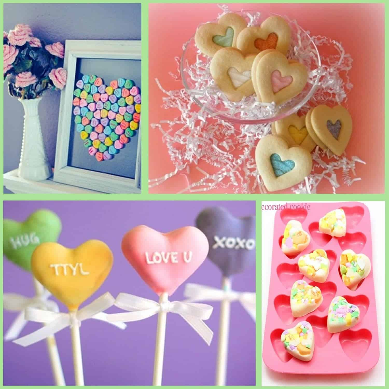 Valentine's Day: Conversation Heart Ideas
