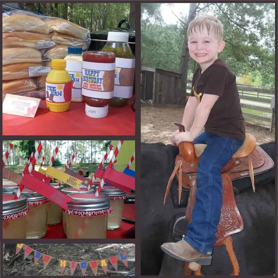 Cowboy Party: John Michael's Buckaroo Bash