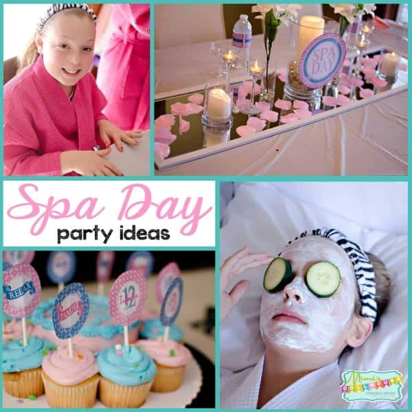 Fabulous Get Pampered With A Tween Spa Party Mimis Dollhouse Personalised Birthday Cards Xaembasilily Jamesorg