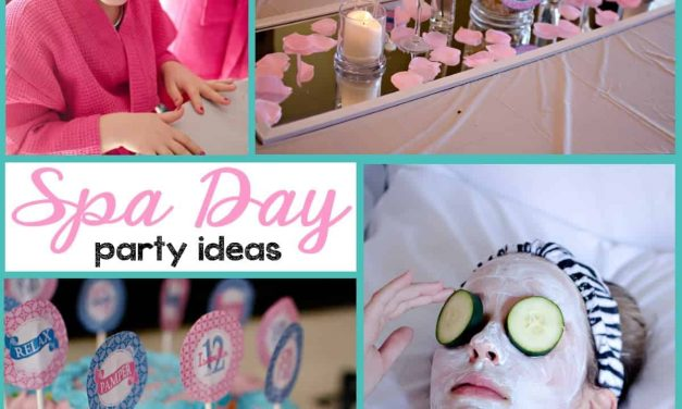 Get Pampered with a Tween Spa Party