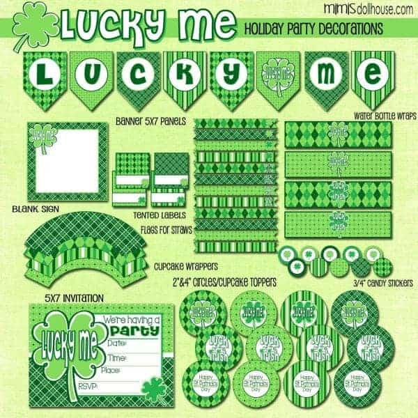 St. Patrick's Day: Lucky Me…FREE St. Patrick's Day Printables