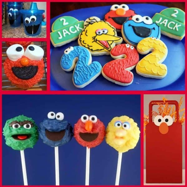 Miraculous Sesame Street Party Sesame Street Party Ideas Mimis Dollhouse Personalised Birthday Cards Petedlily Jamesorg