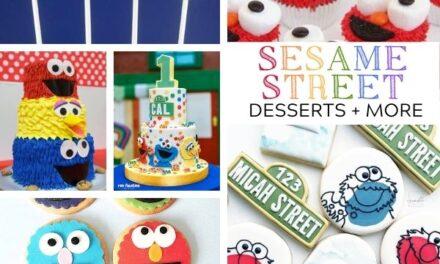20 Sesame Street Cupcakes, Cakes + Desserts