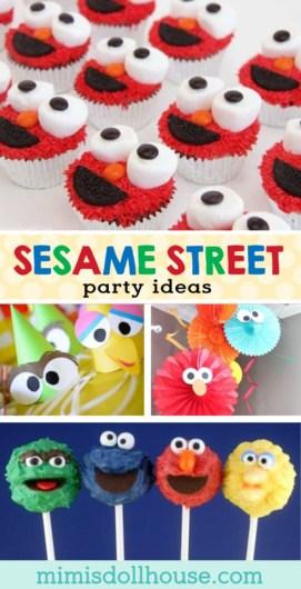 ideas for a sesame street birthday