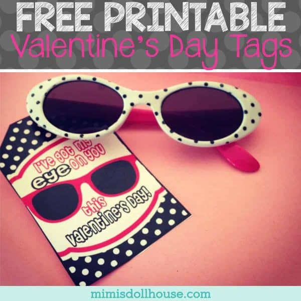 "Valentine's Day: FREE ""I've Got My EYE On You"" Valentine Tags. If you want some easy to use and fun Free Printable Valentine's Day tags...we have got you covered this Valentine's Day!! Looking for more Free Valentines? #freeprintable #printables #valentine #valentines #valentinesday #holiday"