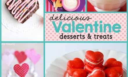 Delicious Valentine's Day Desserts + Food Ideas