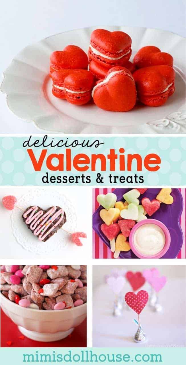 Valentine's Day: Valentine's Day Desserts and Food Ideas. Let's create some adorable and delicious treats for Valentine's Day. Nothing says