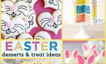Easy Easter Desserts + Delicious Easter Treats