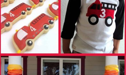 Fireman Party: Firetruck Party Ideas and Crafts