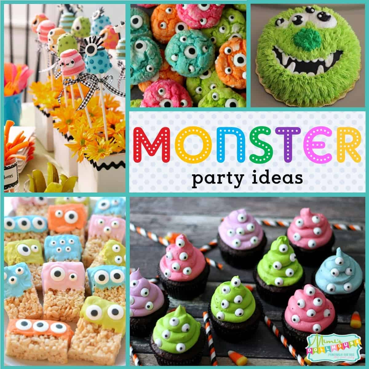 monster party monster birthday party ideas and desserts