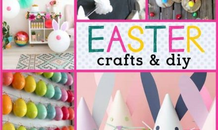 Easter Egg Crafts for Easter + Adorable Bunny Crafts