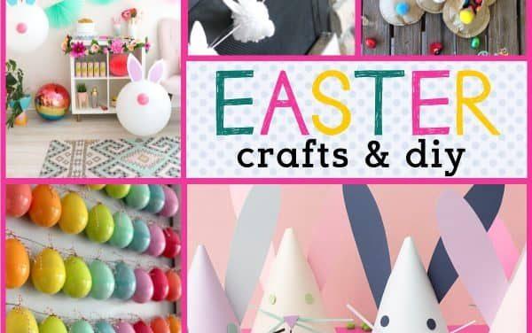Easter Craft Ideas: Easter Egg Crafts, Easter Bunny Crafts & More!