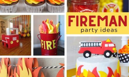 Firetruck Birthday Party Ideas + Desserts