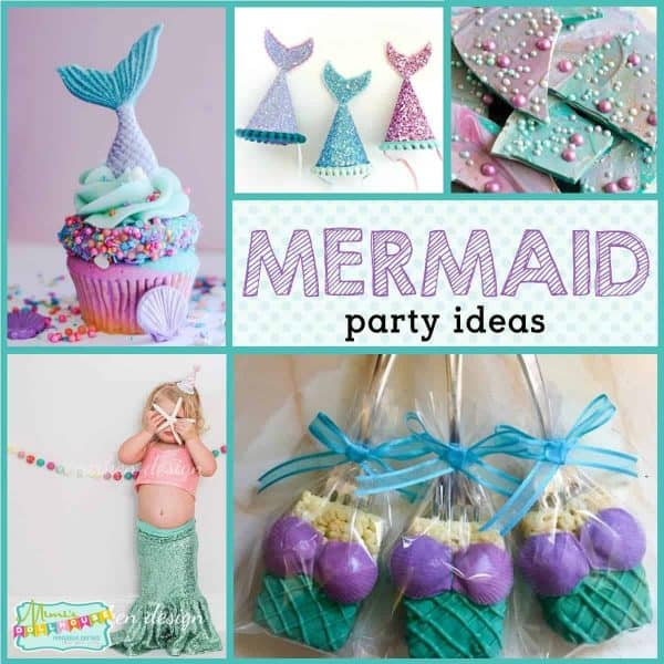 Mermaid Party Mermaid Party Ideas Mimis Dollhouse