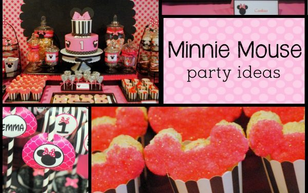 Minnie Mouse Party: Modern Pink Minnie Mouse Birthday