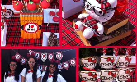 Nerd Hello Kitty Party Ideas your Tween will Love