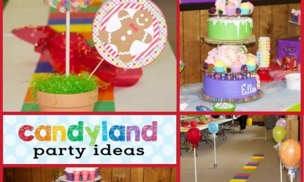 Candyland Party: Ellie and Amelia's Sweet Event