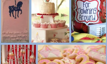 Carnival Party: Stella's First Birthday and Carousel Party Ideas