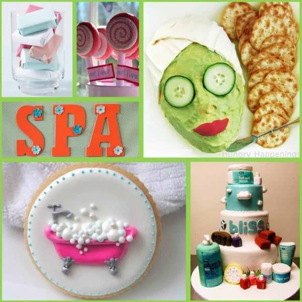 Spa Party: Spa Party Ideas-Mimi's Dollhouse