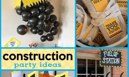 18 Buildable DIY Construction Party Ideas