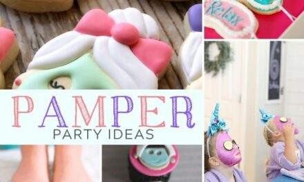 Relaxing Pamper Party Ideas for Tweens + Teens