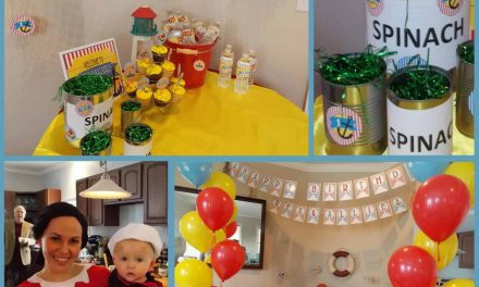 Sailor Party: Popeye themed Birthday Bash