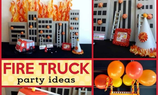 Flaming Hot Fireman Birthday Party