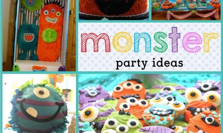 Monster Party: Scary Cute Monster Party