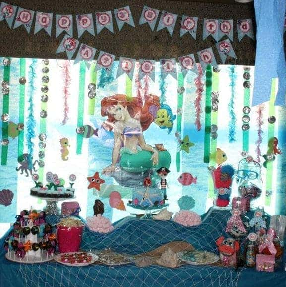 Under The Sea Party:Atleigh turns 3 Under The Sea-Mimi's Dollhouse