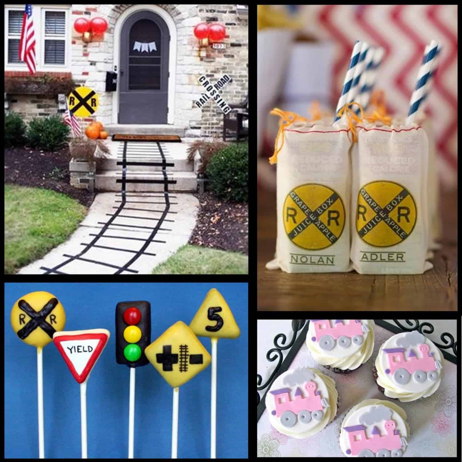 Train Party: Choo-Chootastic Train Party Ideas