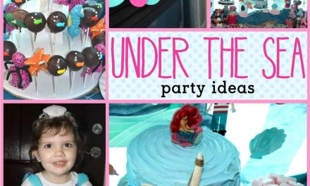 Under the Sea Party: Girly Under the Sea Party Decorations