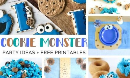 Fun Cookie Monster Party Ideas + FREE Printables