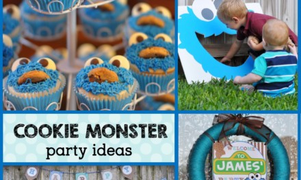 Let's Throw a Cookie Monster Birthday