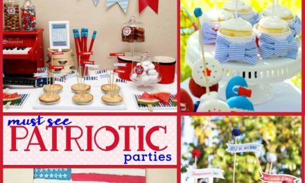 Stunning Patriotic Parties for 4th of July