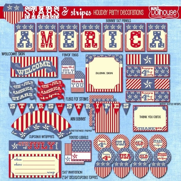 stars and stripes display file