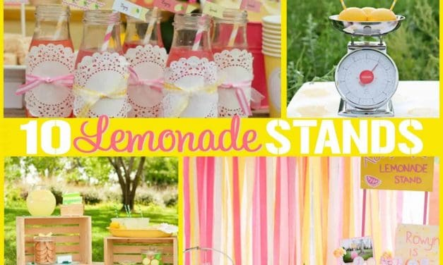 Lemonade Stand: 10 DIY Lemonade Stand Ideas