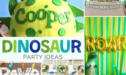 Ideas for a Paleo-terrific Prehistoric Kid's Dinosaur Party
