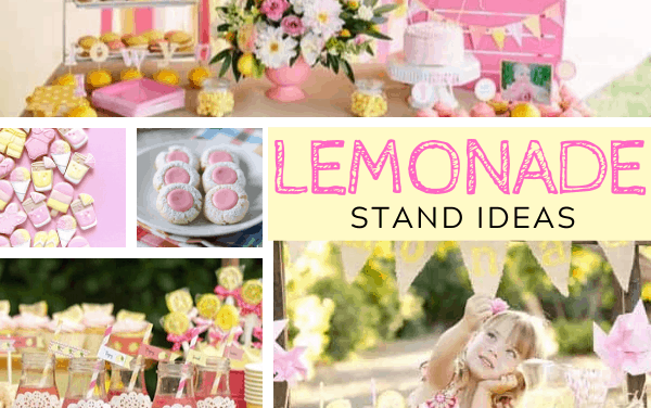 Sweet + Adorable Ideas for a Lemonade Stand