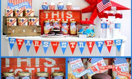 Free Vintage Fourth of July Printables