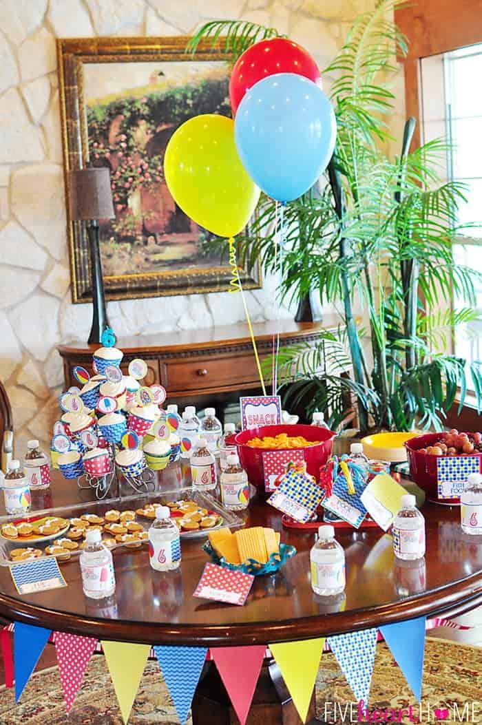 Pool Party: Splish Splash Sixth Birthday Bash