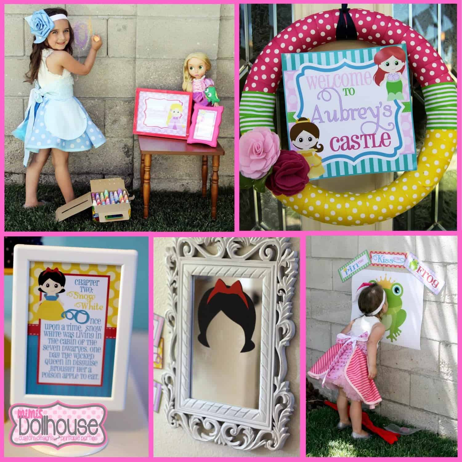 Princess Party: Aubrey's 4th Birthday Storybook Celebration (Part 2)