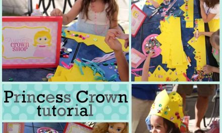Easy DIY Princess Crown Tutorial