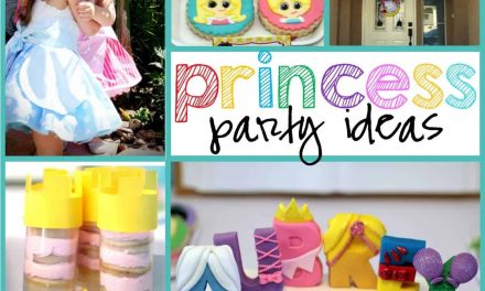 Unique + Playful Disney Inspired Princess Party